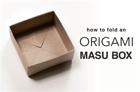 origami masu box 20 best images about origami book tutorials on