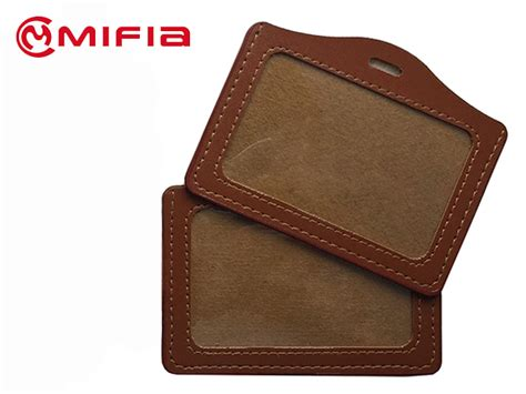 leather id card holder plastic filing and storage card holder leather id card holders mifia industrial co ltd