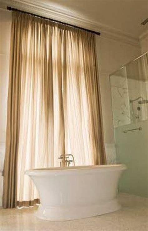 Bathroom Window Curtain Ideas by 1000 Ideas About Bathroom Window Curtains On