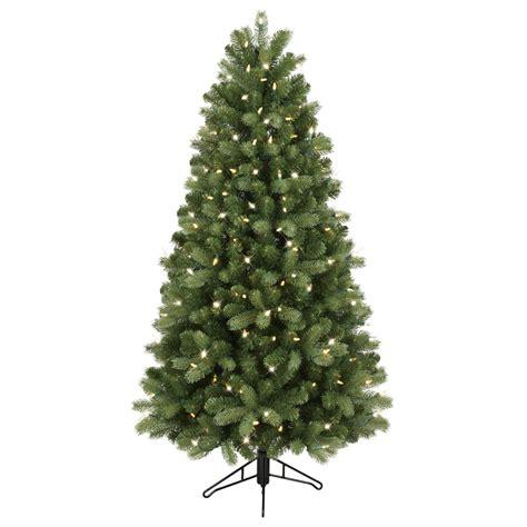 ge artificial tree shop ge 5 ft pre lit colorado spruce artificial