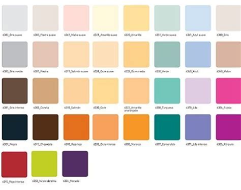 carta de colores para paredes interiores elegir colores para pintar tendenzias