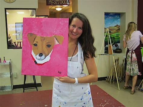 painting with a twist lansing paint your pet paint your pet