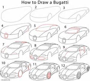 how to draw step by step how to draw a bugatti step by step pictures cool2bkids