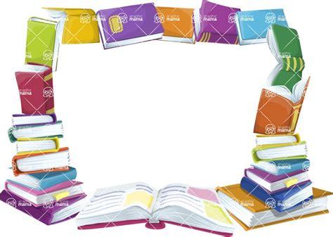 picture frame book school books frame graphicmama graphicmama