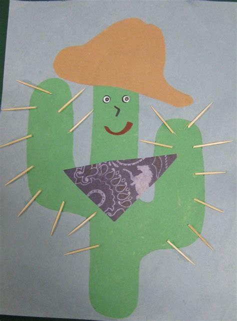 western crafts for cactus cc thema indianen en cowboys