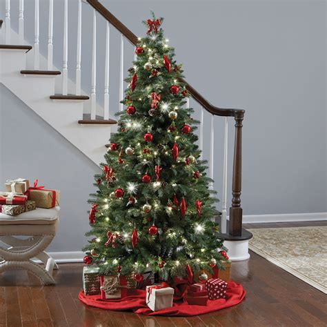 the instant fully decorated tree hammacher