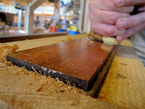 woodworking finishing techniques a ancient method for finishing and polishing wood