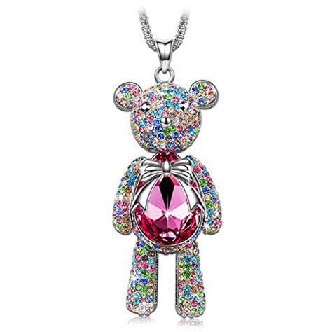 make swarovski jewelry j princess made with pink swarovski crystals