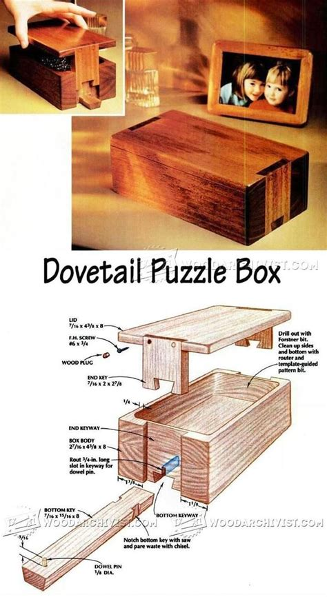 woodworking puzzle box puzzle box plans woodworking plans and projects