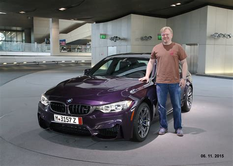 Bmw Delivery by Bmw European Delivery Of A Daytona Violet Bmw F80 M3