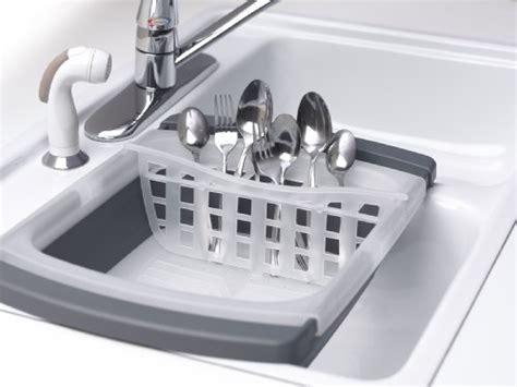 small kitchen sink and drainer the sink dish drainer collapsible folding rack