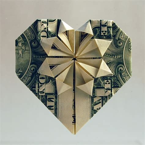 dollar bill origami flower origami 171 embroidery origami