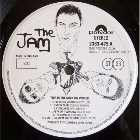 this is the modern world uk original w inner sleeve by the jam lp with geminicricket ref