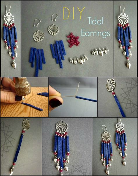 how to make cool jewelry at home diy earrings tutorials