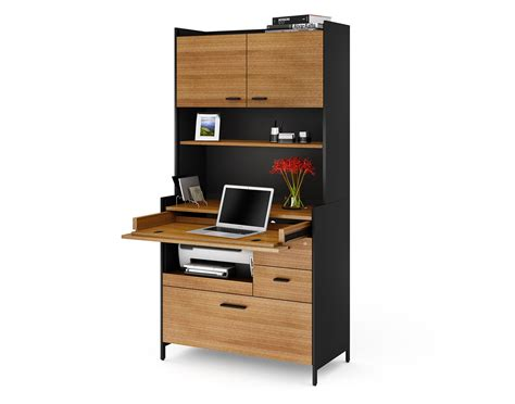 compact office desk bdi aspect hutch 6234 compact office desk atmosphere
