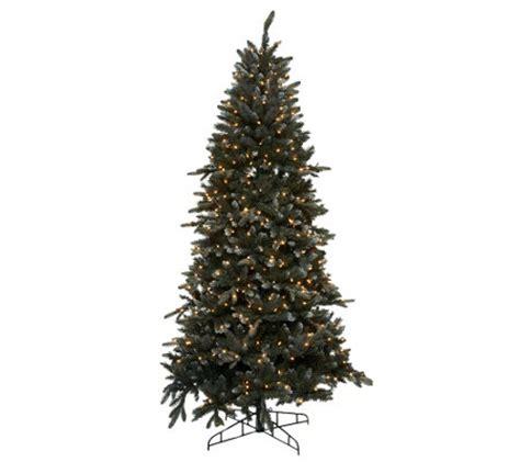 qvc bethlehem lights trees bethlehem lights 9 snow tree with instant power