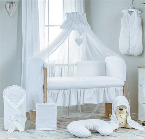 plain cot bedding sets luxury 10 baby cot bedding set cotbed nursery canopy