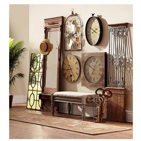 antique decor home decorators collection baroness 71 in iron wood wall