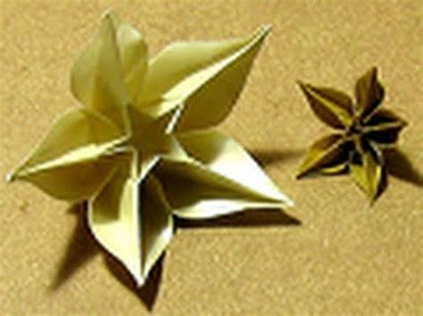 carambola flowers origami origami tutorial carambola sprung