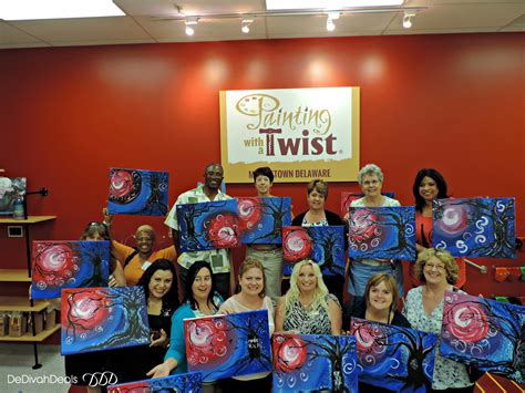 paint with a twist painting with a twist in middletown delaware