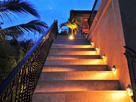 outdoor step lighting outdoor step lights tropical stair and step lights