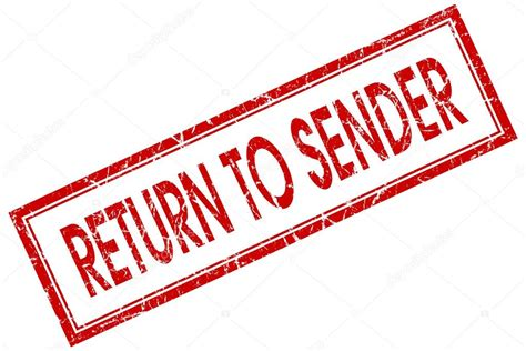 addressee unknown return to sender rubber st return to sender st images