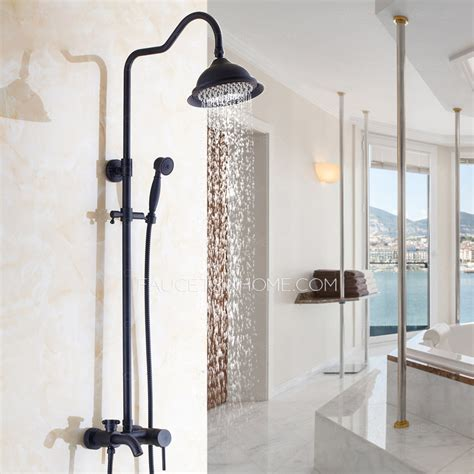 Oil Rubbed Bronze Faucet Kitchen simple brass outside oil rubbed bronze shower faucet system