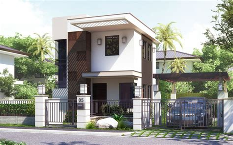 Small House Design pinoy house design 201512 is a small house design in a two