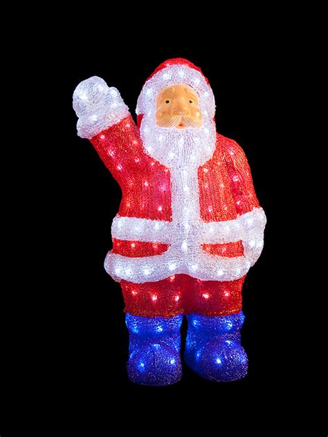 light up reindeer outdoor decoration light up acrylic santa snowman reindeer outdoor