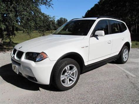 2006 Bmw X3 3 0 I by Find Used 2006 Bmw X3 3 0 I One Owner Only 39000