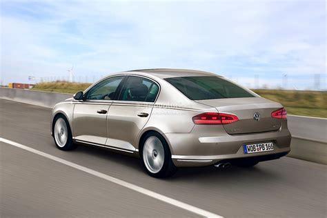 2015 Volkswagen Passat by 2015 B8 Volkswagen Passat Rendering Autoevolution