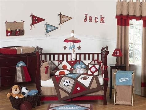 baseball nursery bedding sets all sports baby bedding 9 pc crib set only 189 99