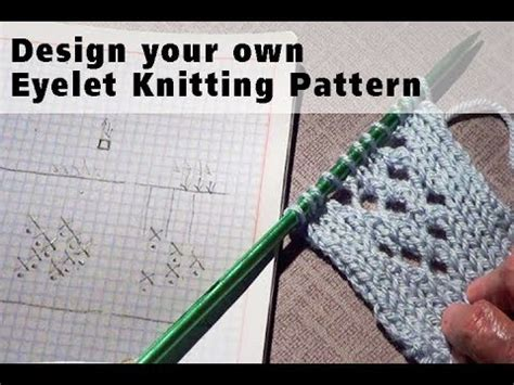 make 1 in knitting how to design your own knitting pattern