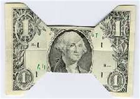dollar bill origami bow tie folding money the of origami meets dollar bills pix