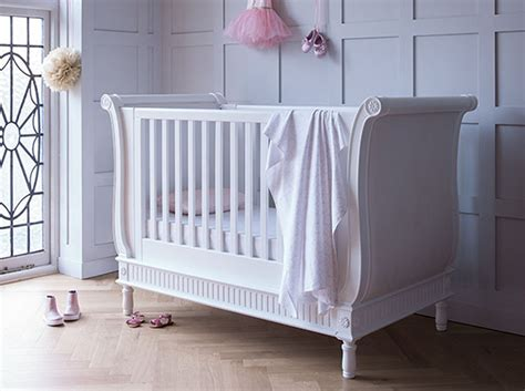 bed cot bambizi sleigh cot bed