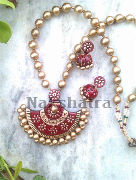 how to make terracotta jewelry terracotta jewellery