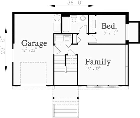 small house floor plans with basement split level house plans small house plans