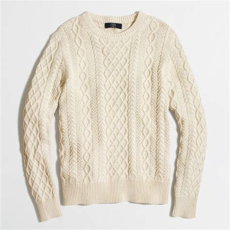 knit fisherman sweater j crew fisherman cable knit sweater sweaters that ll