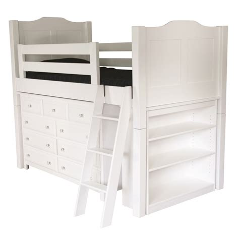 childs bunk beds child s low loft bed amish made loft bed white loft
