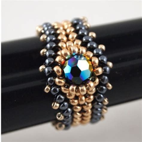 beaded ring 25 best ideas about beaded rings on seed bead