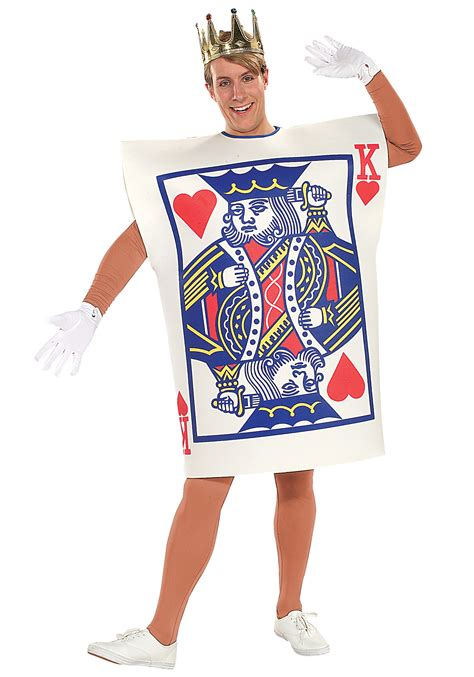 how to make a card dress king of hearts card costume