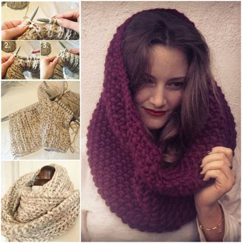 free knitting pattern for snood scarf free knitted snood pattern crochet and knitting