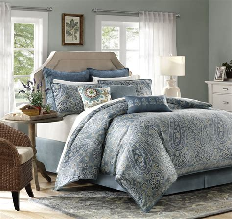 paisley king comforter sets irresistable paisley bedding the home bedding guide