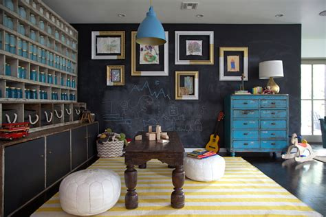 chalkboard paint living room 7 cool playroom ideas for cool picks