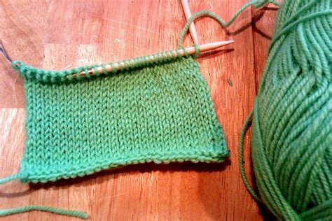 knit one purl two process knit knit knit purl