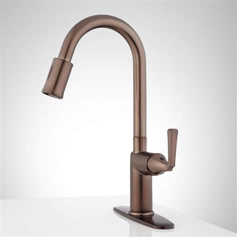 touchless faucets kitchen mullinax single touchless kitchen faucet with deck plate kitchen