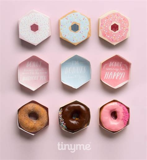 adorable free printable doughnut boxes donut gift