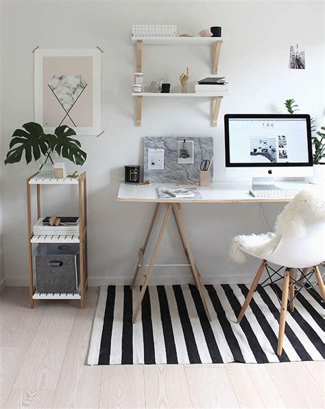 decor home office para copiar home office neutro branco e madeira crua