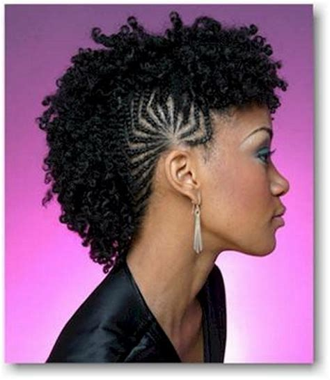 braided mohawk with braided mohawk hairstyles for black