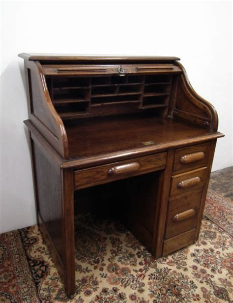 small roll top desks for sale small oak roll top desk antiques atlas